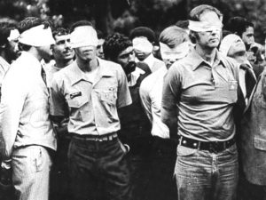 US hostages held in Iran during the Iran Hostage Crisis