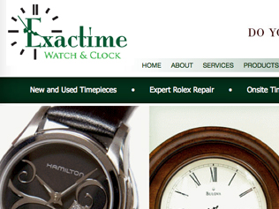 Exactime Website