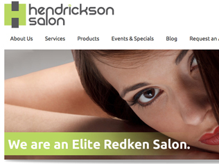 Hendrickson Hair Salon Website