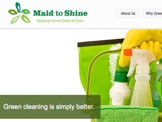 Maid to Shine Website