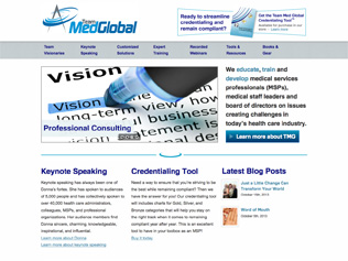 Team Med Global Website