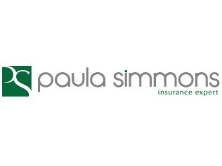 Paula Simmons Insurance Branding