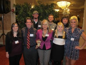 The ninjas receive the Best Place to Work in St. Louis award