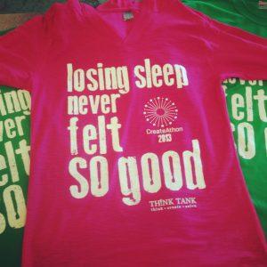 CreateAthon shirts