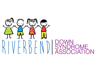 Riverbend Down Syndrome Association Branding