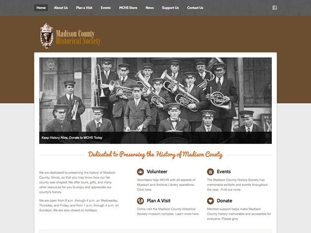 Madison County Historical Society Homepage