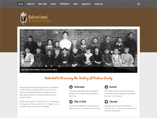 Madison County Historical Society Website