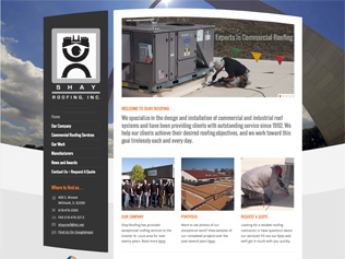 Shay Roofing Website