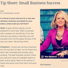 Tip Sheet St. Louis Business Journal
