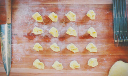 Katies PIzza and Pasta tortellini video