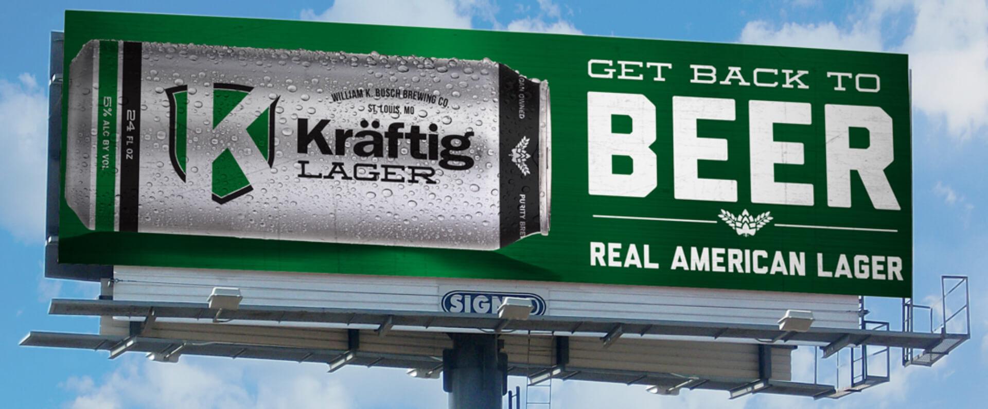 Kraftig billboard