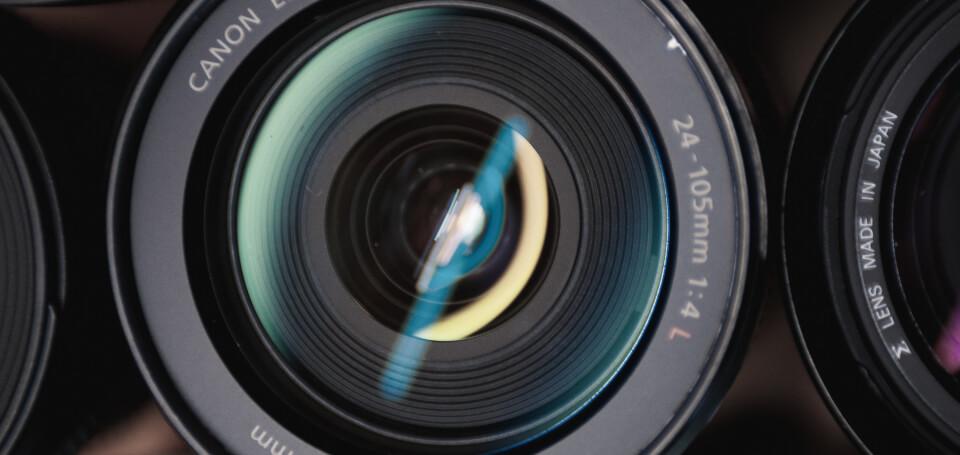 Think Tank Services camera lens