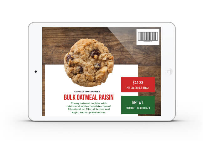 Dogtown Pizza cookie mockup