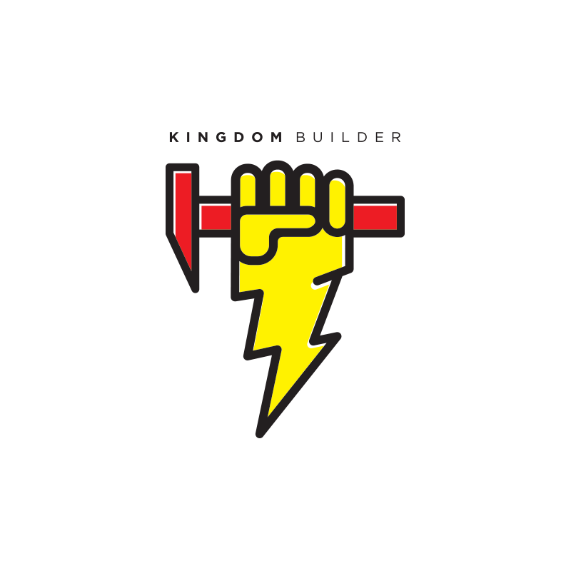Church on the Rock Kingdom Builder logo