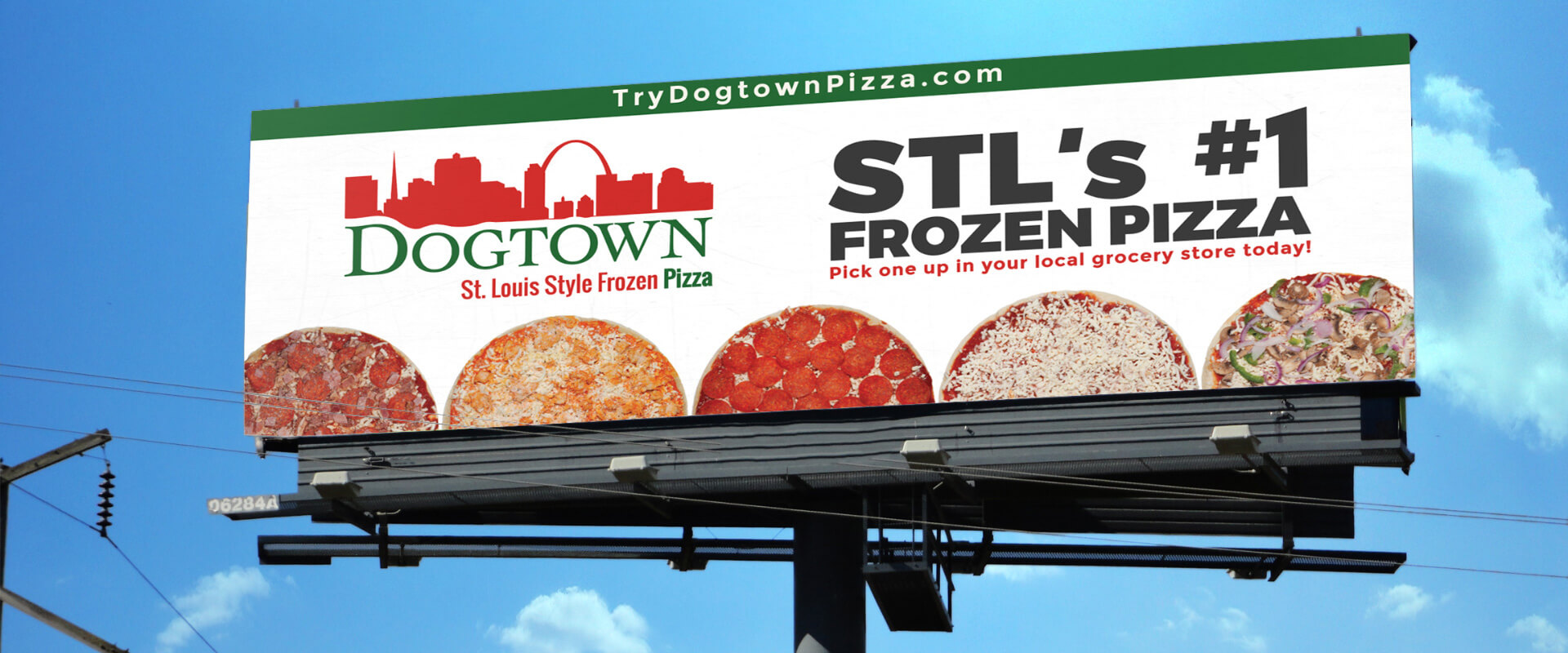 Dogtown Pizza billboard