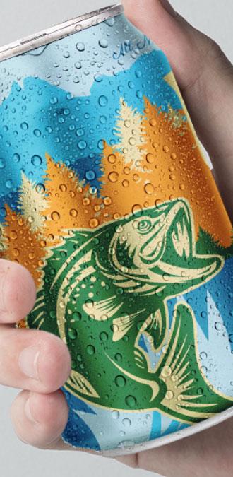 Think Tank Kraftig beer can