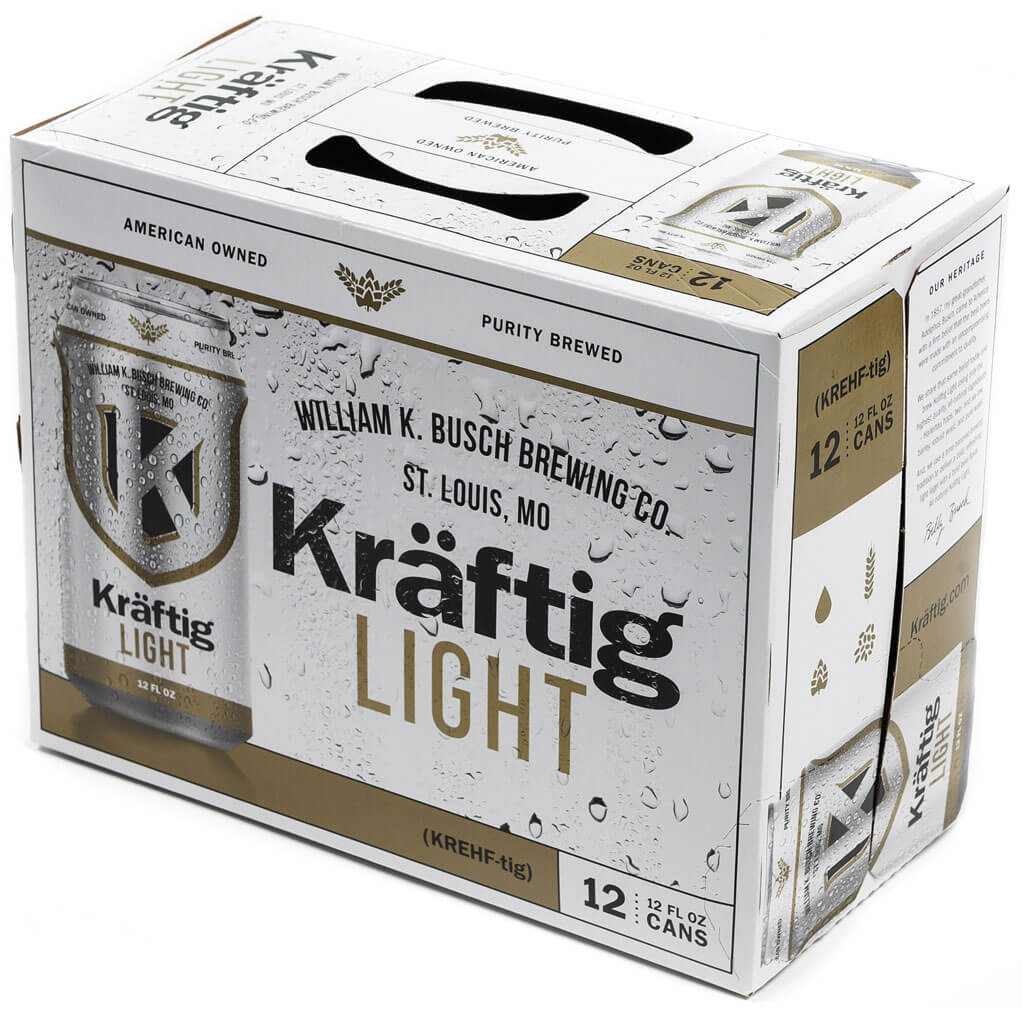 Kraftig light beer case
