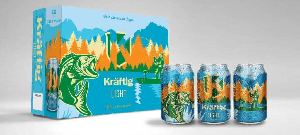 Kraftig limited edition packaging