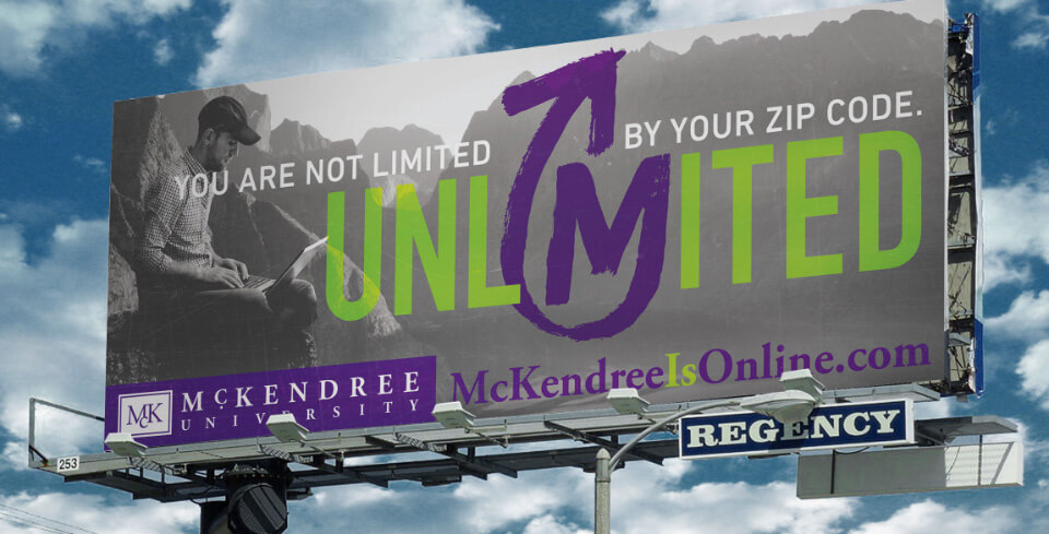 McKendree University billboard