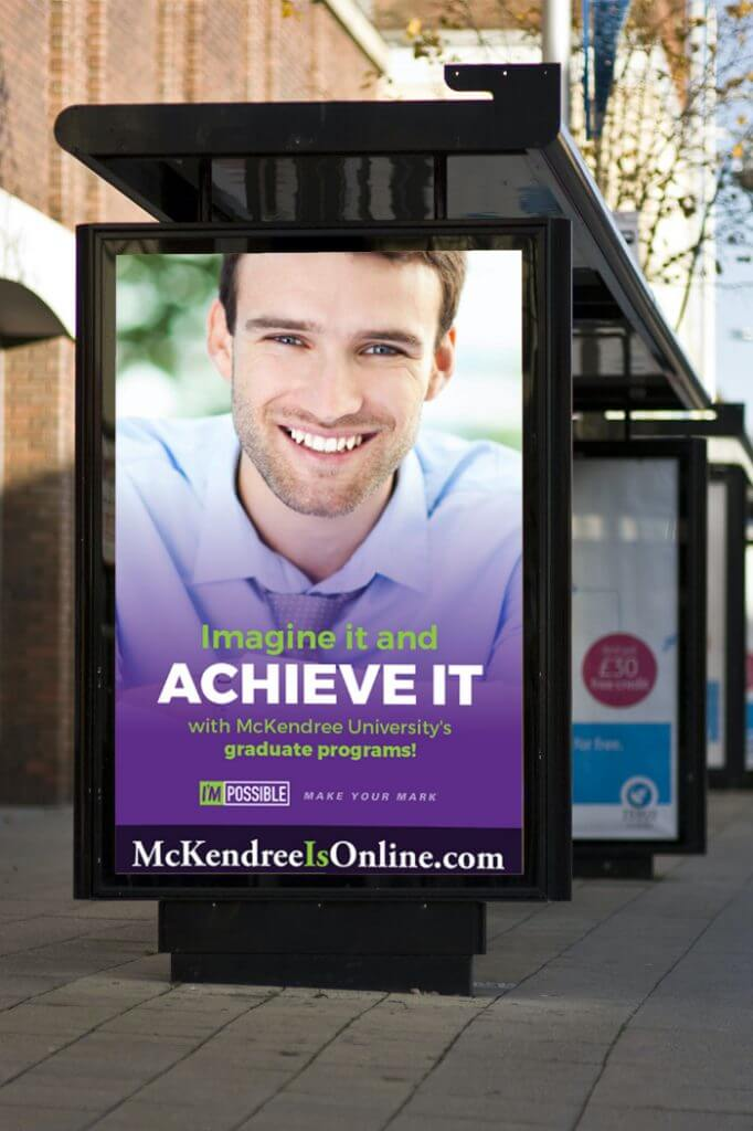 McKendree University poster mockup