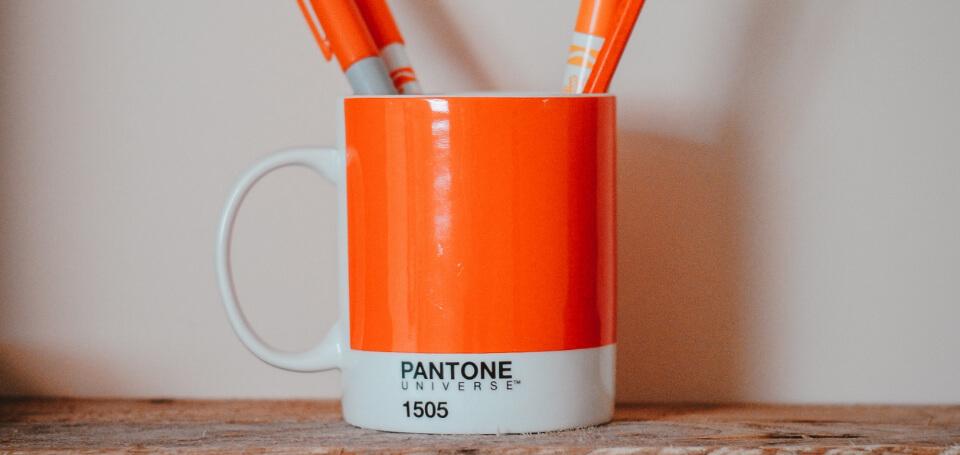 Think Tank Services pantone mug