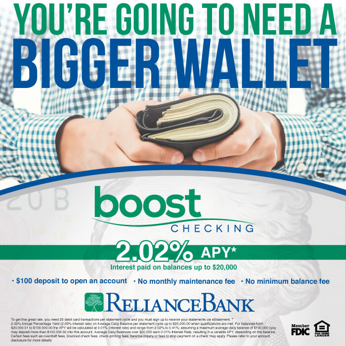 Think Tank social media reliance bank boost checking