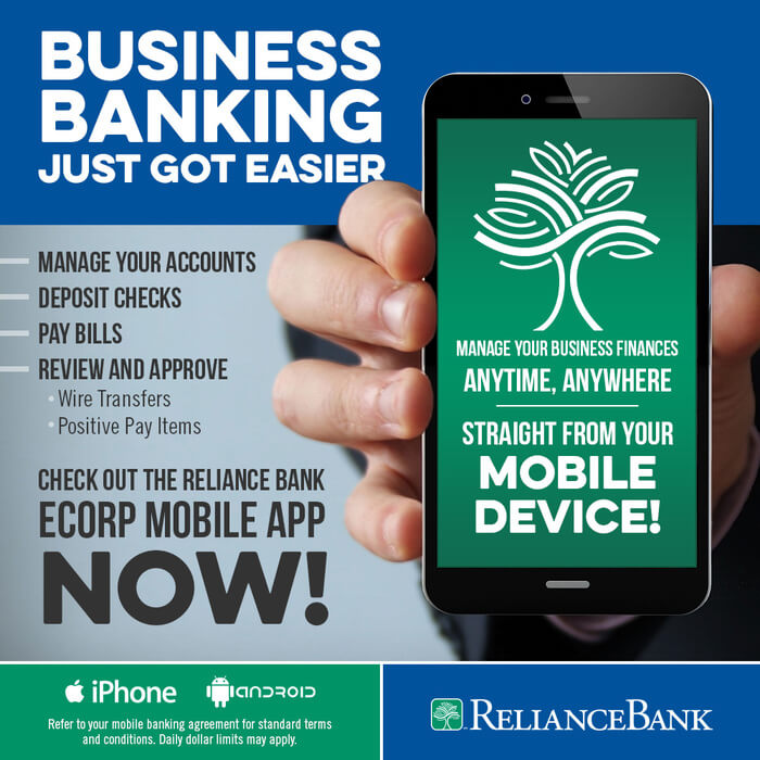 Think Tank social media reliance bank mobile app