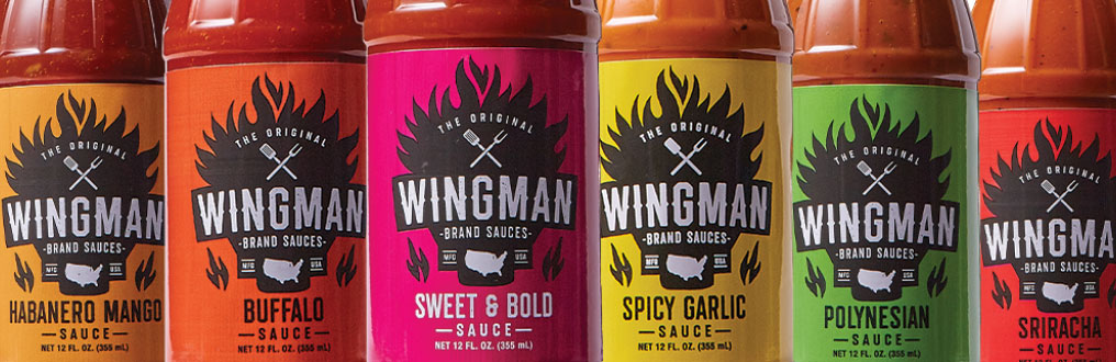 Think Tank Wingman sauces