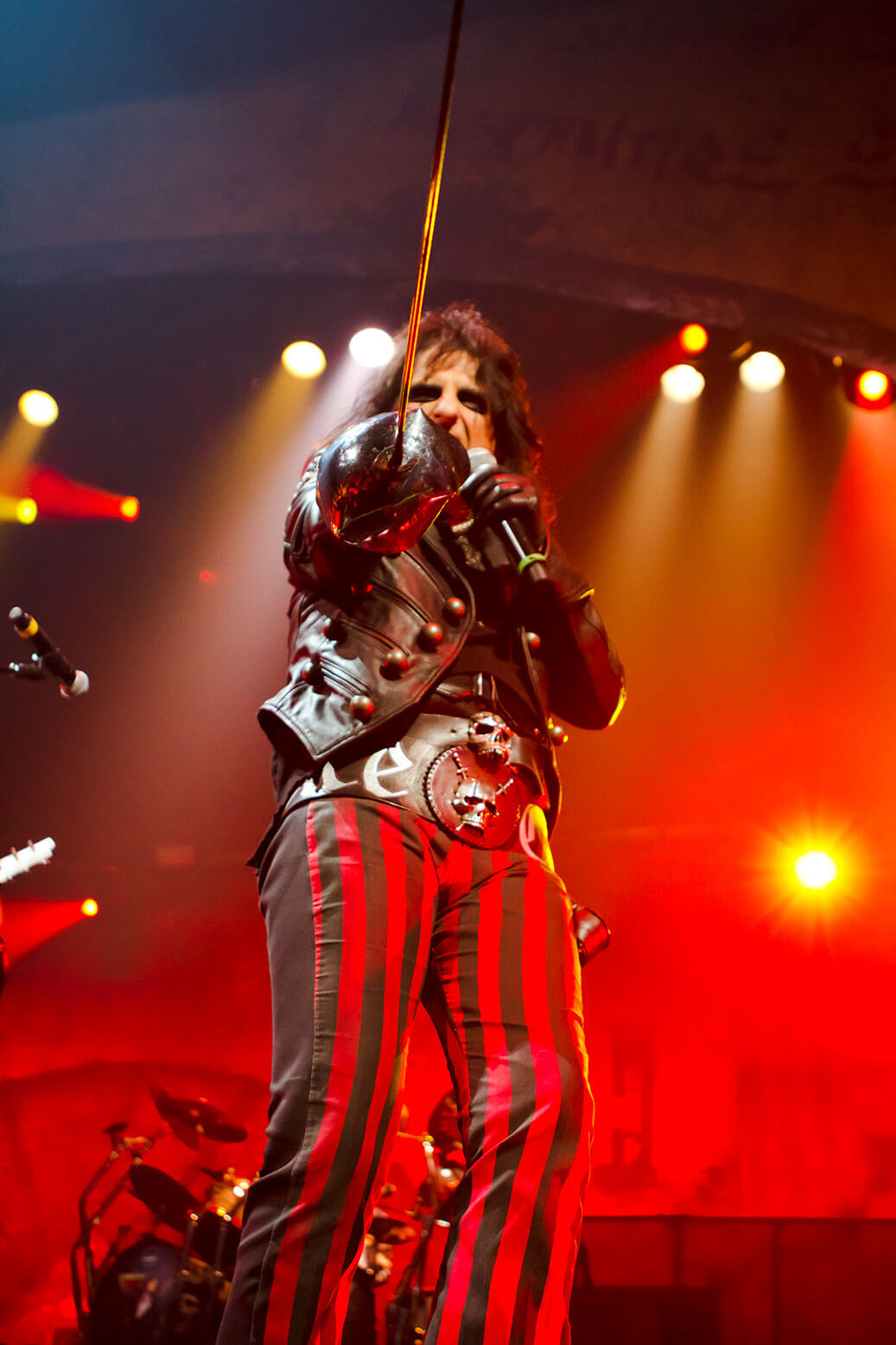 Think Tank PR Marketing Design Alice Cooper concert commercial photography