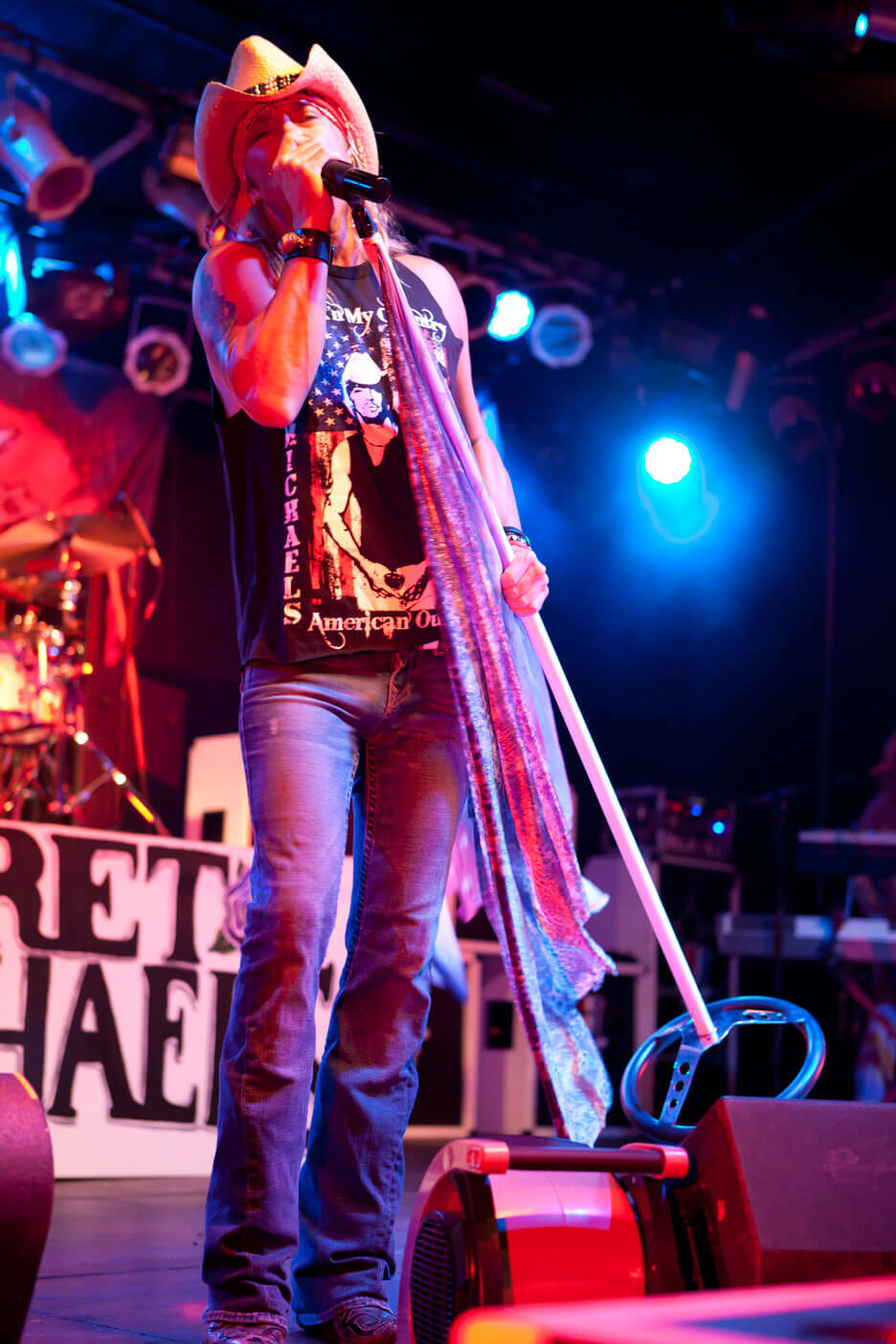 Think Tank PR Marketing Design Bret Michaels concert commercial photography